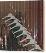 10 Hangers Wood Print