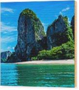 Krabi Beach 2 Wood Print