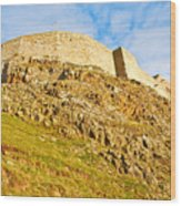 Lindisfarne Castle Wood Print