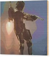 New Star Wars Poster Wood Print