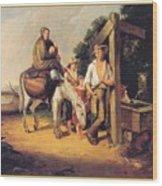 North Carolinaimmigrants Poor White Folks James Henry Beard Wood Print