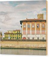 Pisa Italy Wood Print