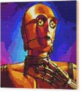Star Wars Wood Print