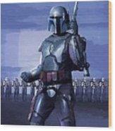 Star Wars Episode 2 Poster Wood Print