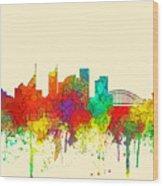 Sydney Australia Skyline Wood Print