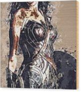 Wonder Woman Wood Print