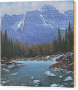 100129-4860  Winters Early Arrival Wood Print