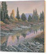100501-1224  Autumn Reflections Wood Print
