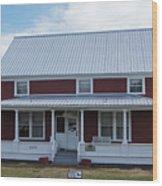 108 Mile Road House Wood Print