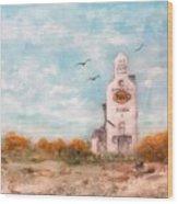#1082 Saskatchewan Elevator Wood Print