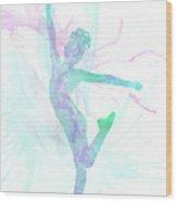 10835 The Gymnast Wood Print