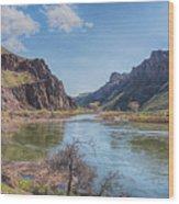 10905 Oregons Owyhee River   Wood Print