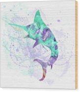 10961 Swordfish Wood Print