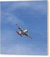 109th Air Guard Schenectady N.y. Wood Print