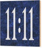 11 11 Wood Print