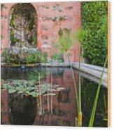 Alcazar Of Seville - Seville Spain Wood Print