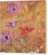 anemones 1876 Henry Roderick Newman Wood Print