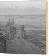 Canyonlands National Park Utah Wood Print