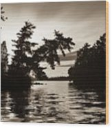 Lake Of The Woods, Ontario, Canada Wood Print