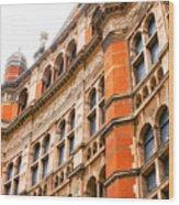 London Building Wood Print