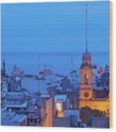 Montevideo, Uruguay Wood Print