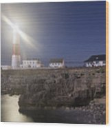Portland Bill Seascapes Wood Print