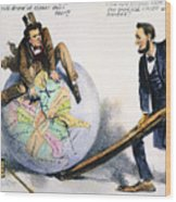 Presidential Campaign, 1864 Wood Print