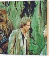Star Wars Poster Art Wood Print