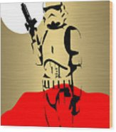 Star Wars Stormtrooper Collection Wood Print