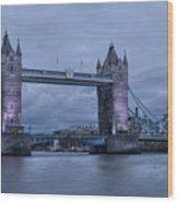 Tower Bridge - London Wood Print