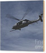 U.s. Air Foce Hh-60g Pave Hawk Wood Print