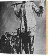 William F. Cody (1846-1917) Wood Print by Granger