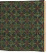 Arabesque 002 Wood Print