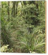 Jungle 31 Wood Print