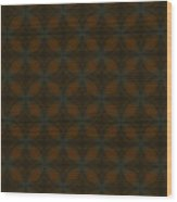 Arabesque 011 Wood Print