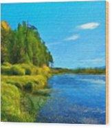 Nature Art Landscape Canvas Art Paintings Oil Wood Print