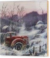 #1120 Distant Memories Wood Print
