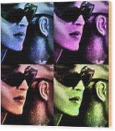 11438 Mannequin Series 11-14 Can You Keep A Secret Pop Art 2 Wood Print