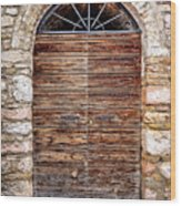 1165 Assisi Italy Wood Print