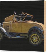 1930 Model A Ford Convertible Wood Print