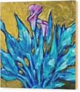 11.95 Wood Print by Sheila Tajima