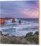 12 Apostles At Sunset II Wood Print