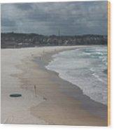 Australia - An Empty Bondi Beach  Wood Print