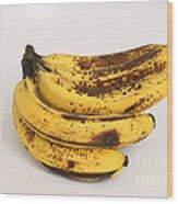 Banana Ripening Sequence Wood Print
