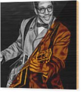 Bo Diddley Collection Wood Print