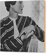 Duchess Of Windsor Wallis Simpson Wood Print