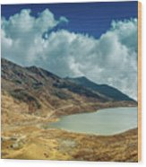 Elephant Lake, Kupup Valley, Sikkim, India Wood Print