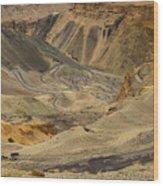 Moonland Ladakh Jammu And Kashmir India Wood Print
