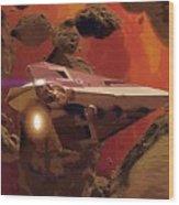 Movies Star Wars Poster Wood Print