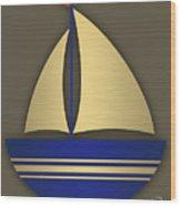 Nautical Collection Wood Print